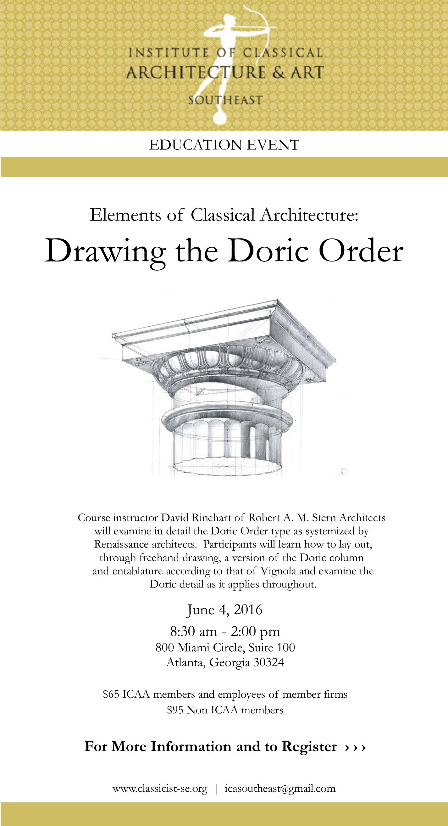 Rinehart_Doric Order 6.4.16
